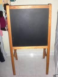 Image of: IKEA Chalkboard Easel