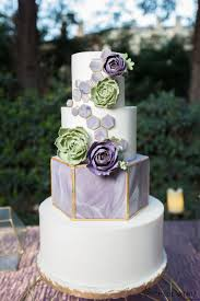 Geometric Modern Wedding Cake Cakecentralcom
