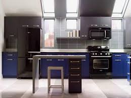 Kitchens With Black Appliances Fashionable And Sophisticated Kitchen Black Appliances