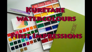 Gansai Tambi Color Chart Kuretake Gansai Tambi Watercolors Colour Chart First Impressions