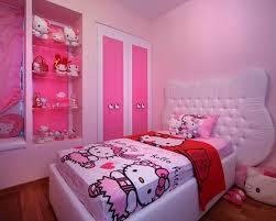 Bedroom Little Girl Hello Kitty Bedrooms Hello Kitty Small Room