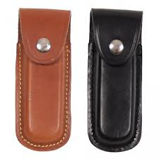 more views leather knife case