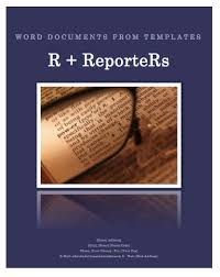 Catalog Template For Word Beauteous Create A Word Document From A Template File Using R Software And