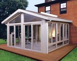 very small enclosed porch ideas the 3 large skylights