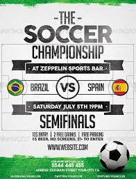 Free Soccer Flyer Design Templates Flyer Template Soccer Ianswer