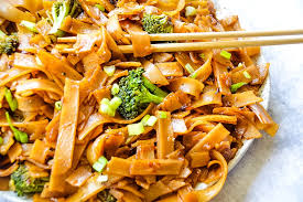 easy sweet and y rice noodles a