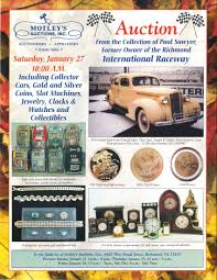 collection of former owner of the richmond international raceway collector cars
