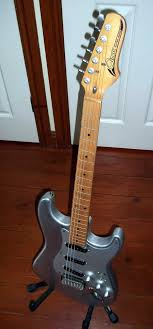 carter guitars repairs this is an aluminium guitar body an old cimar maple neck that i put together for an old colleague of mine at his request i modified an old guitar neck