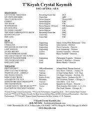 Formidable Musical Audition Resume Sample With Voice Acting Resume