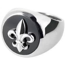rg304 fleur de lys ring sterling silver ari d norman