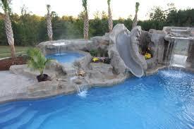 Pools With Slides And Waterfalls Backyard cumberlanddemsus