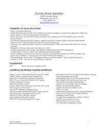 Cover Letter Instructional Design Resume Examples Examples Of Good