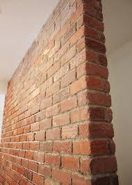 diy real brick wall via apartmenttherapy com