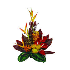 tropical sunset hawaiian flower bouquet flowers