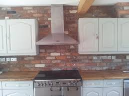 Brick Floors In Kitchen Reclaimed Brick Slips Other Stuff Pinterest Bricks