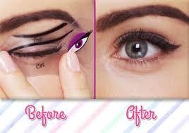cat eye makeup smokey eye makeup stencils beth bender beauty