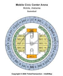 Mobile Civic Center Arena Tickets And Mobile Civic Center