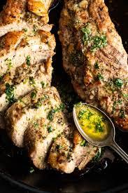 keto pork tenderloin with garlic herb