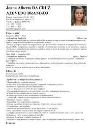 Exemplos De Curriculos Modelo De Curriculum Assistente De Auditoria Exemplo De Cv