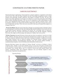 how to write papers about organizational culture paper organisational culture is not that different from social culture where the code of conduct for society is laid down based on a deep founded value system and