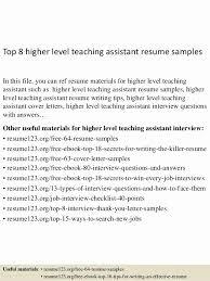 Instructional Assistant Resume Nfcnbarroom Com