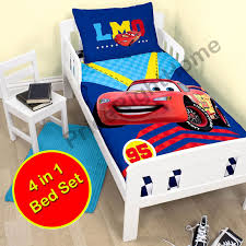 Lightning Mcqueen Bedroom Furniture Disney Cars Duvet Covers Single Double Amp Junior Bedding