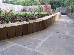 inexpensive retaining wall ideas