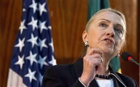 Dat heeft de Amerikaanse minister van Buitenlandse Zaken Hillary Clinton verklaard in Jeruzalem. Clinton is in Israël voor een spoedoverleg over het ... - hillary-clinton_2297853b