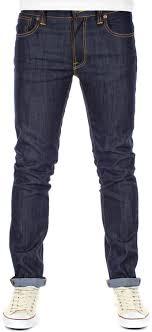Nudie Slim Jim Size Chart Nudie Thin Finn Jeans Organic Dry Ecru Emb