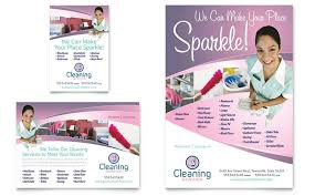 House Cleaning Services Flyers House Cleaning Maid Services Flyer Ad Template Design