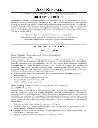 sample recruiter resumes