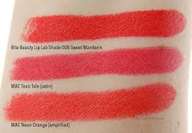 bite beauty swatch and review