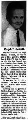 Keifird K Griffith (1978 - 2007) - Biography and Family Tree