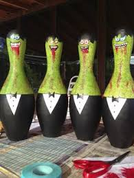 Decorated Bowling Pins Recycling Woody Pinterest Woody 86