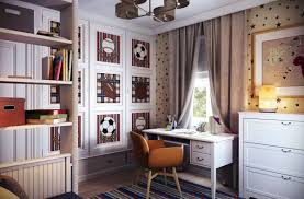 ... Mind Blowing Images Of Sport Theme Kid Bedroom Design And Decoration  Ideas : Alluring Picture Of ...