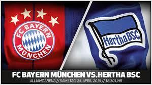 Die dfl hat den spielplan für die neue saison veröffentlicht. Bundesliga Vorschau Fc Bayern Munchen Hertha Bsc 30 Spieltag