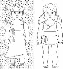 She can choose any color she likes for filling this sheet. American Girl Doll Coloring Pages Coloring Rocks