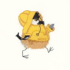 Valerie Pfeiffer Chickadees Rain Chick
