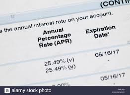 Credit Card Interest Rate Apr Credit Card Annual Percentage Rate