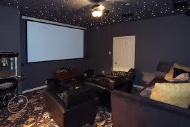 Media Rooms Gray Movie Room Media Room Paint Color Ideas