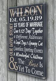 personalized 5th 15th 25th 50th anniversary gift wedding enement wife husband pas gift our love story the best is yet to e family pic ideas