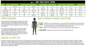 Punctilious Nike Basketball Shorts Sizing Chart Nike Mens