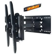 50 75 inch 100kg led lcd plasma tv tilt swivel pivot wall mount bracket black