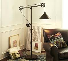 wonderful pottery barn glendale pulley task table lamp