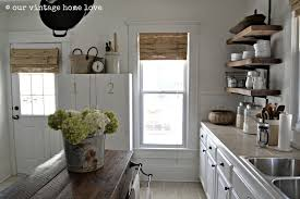 Dove White Kitchen Cabinets Our Vintage Home Love Simply White