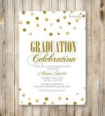 celebration invite graduation celebration invitation glam high school
