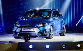 new car launches europe 201515 Things You Need to Know About the 2016 Ford Focus RS