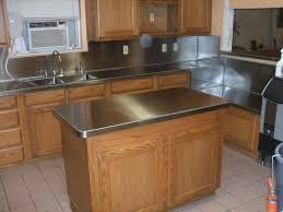image of aluminum countertop freestanding