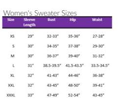 Crochet Size Chart Sizing Charts For Crochet And Knitting The Lavender Chair