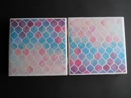 Decorative Tile Coasters Moroccan Coasters Mosaic Coasters Drink Coasters Decorative 24